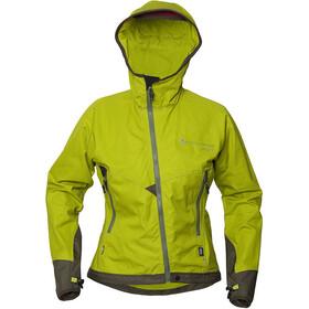 Klättermusen W's Einride Jacket 2.0 Citronelle/Dark Green
